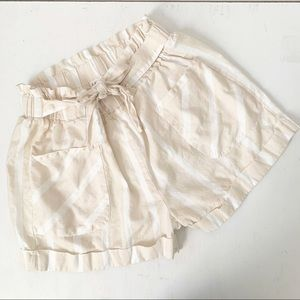 Full Circle Trends Paper Bag Style Shorts